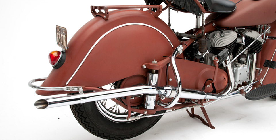 Indian Chief  - Indian Highway Bars - Rear